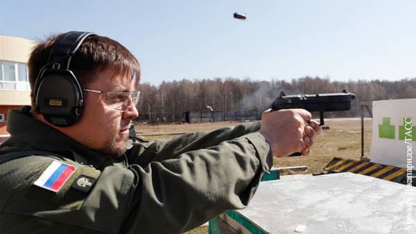 Пистолет «Удав» подготовили к передаче на вооружение